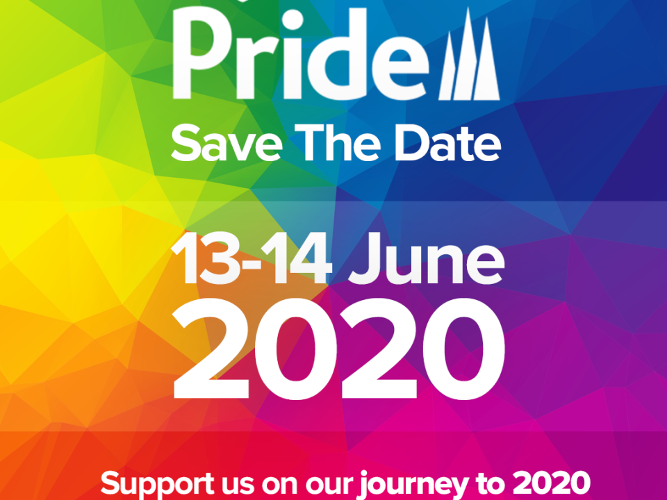 Save The Date for Pride 2020